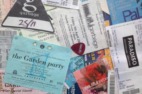Garbage tickets